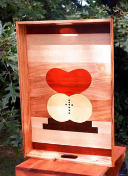 Wooden Tray Worldwide Marriage Encounter