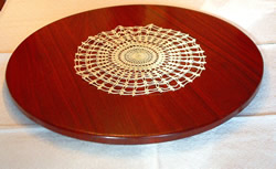 Hand Crafted Wooden Lazy Susan